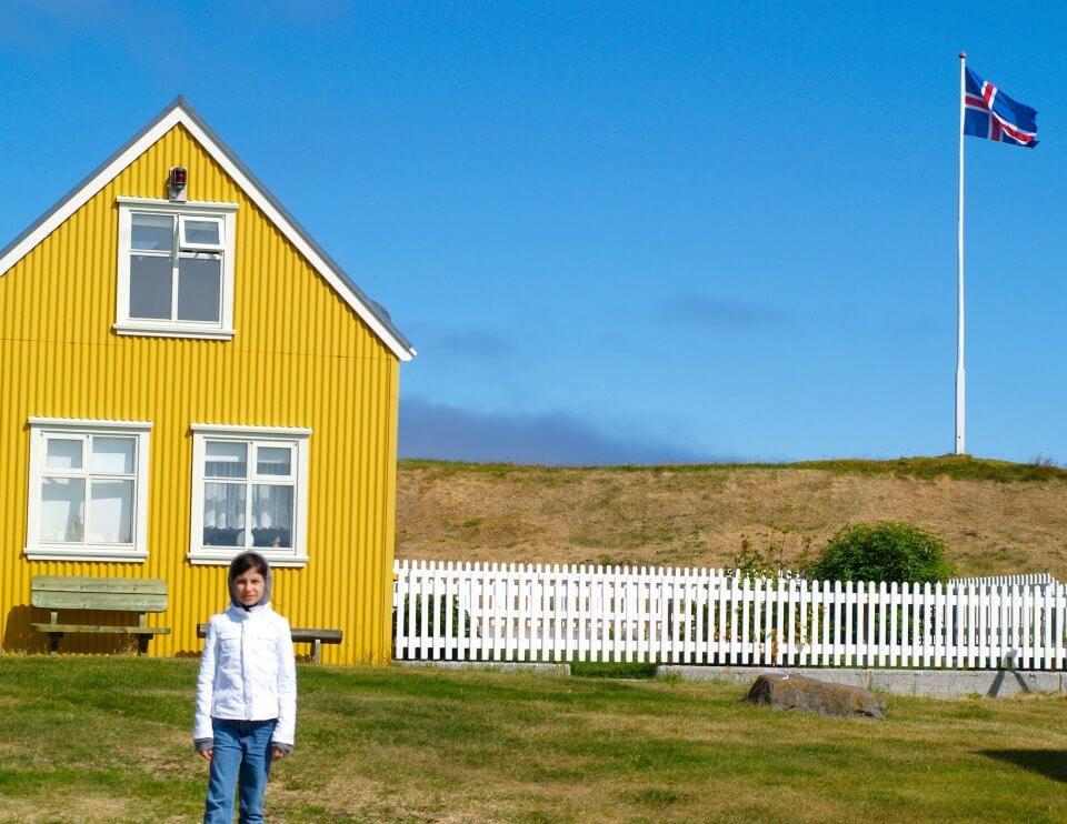 La casa gialla di Vigur